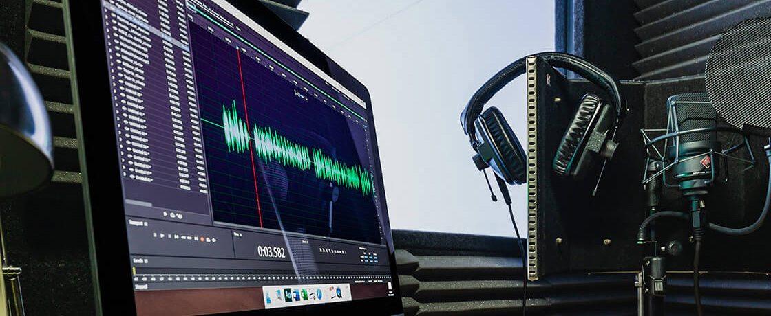 commercial voice over studio